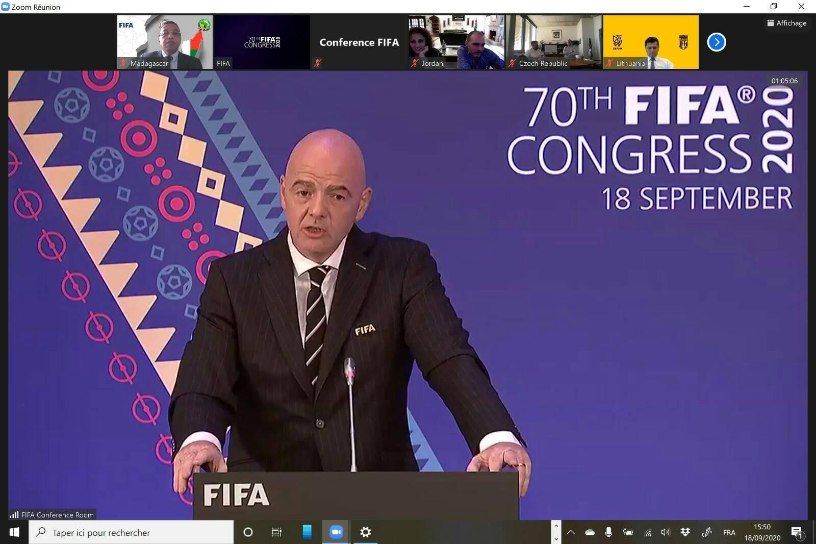 70ème congrès de la FIFA