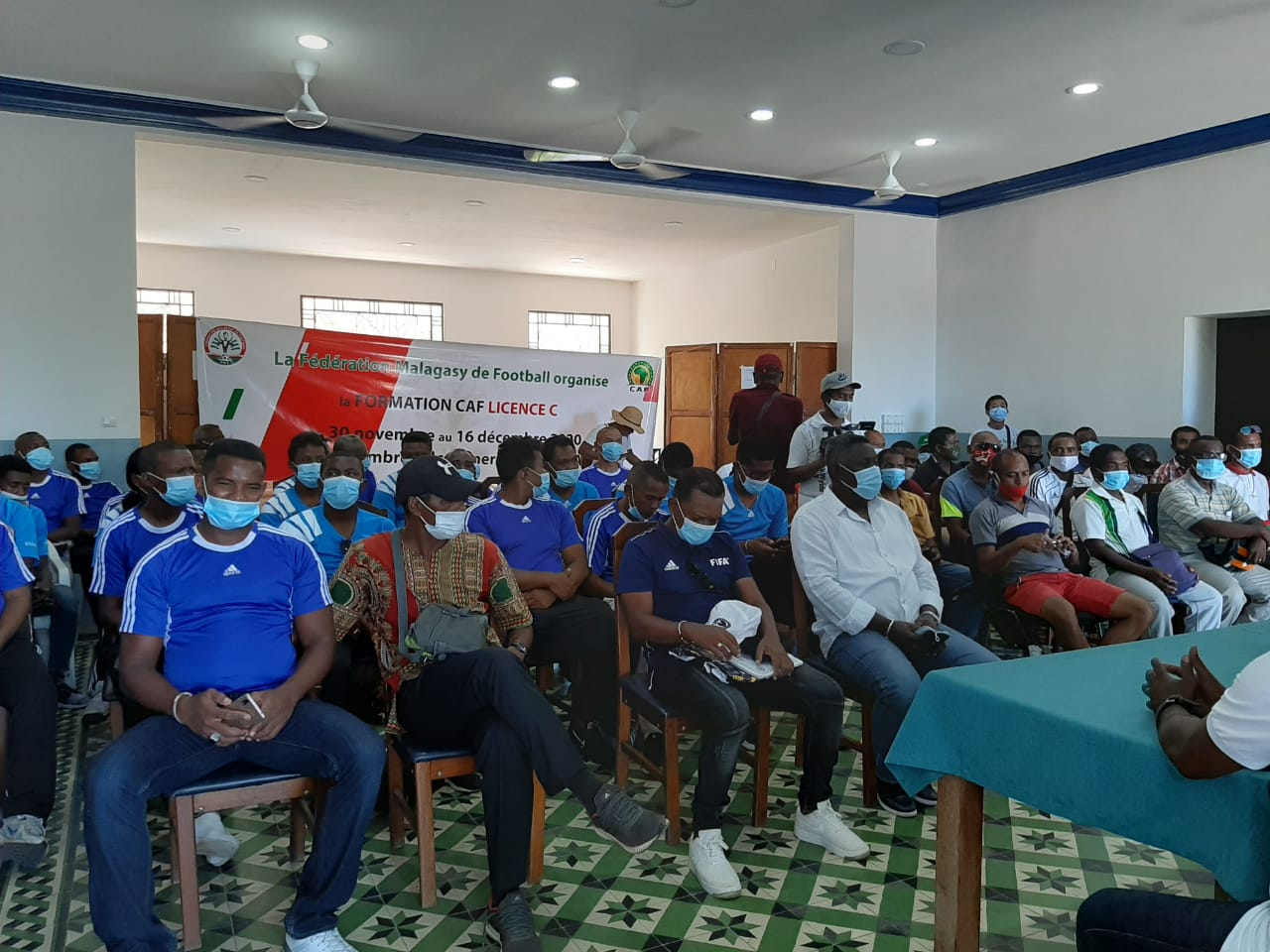 Formation LICENCE C – CAF, la prochaine édition à Antsirabe